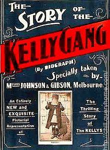 "Australia made the first feature film in 1906 and the film name was ""The Story of the Kelly Gang""."