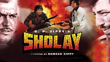 Famous movie Sholay goes to the highest ever gross earning (inflation adjusted) in Bollywood history.