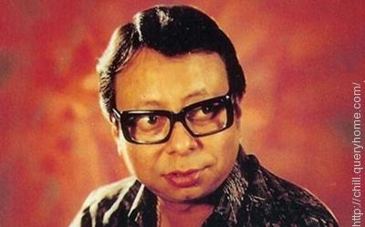 R D Burman gave the male voice in the song 'Mehbooba' in Sholay.