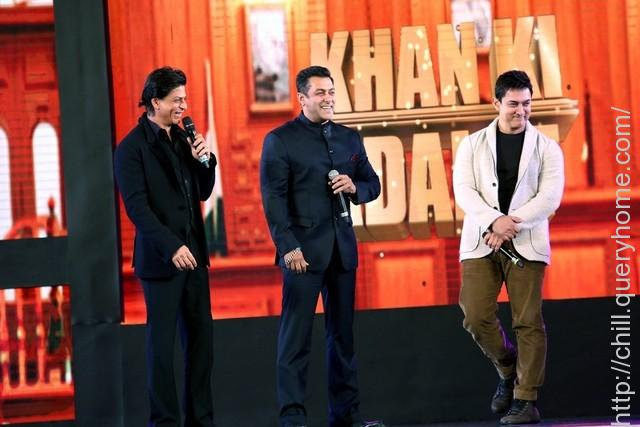 Khans worked together