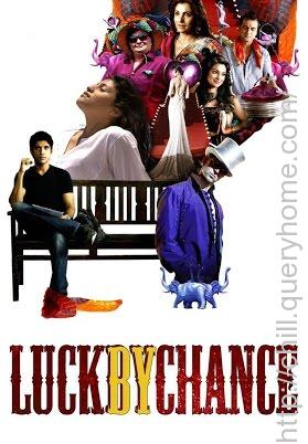 In which profession lead actor Farhan Akhtar trying to make his career in the bollywood movie 'Luck By Chance'?