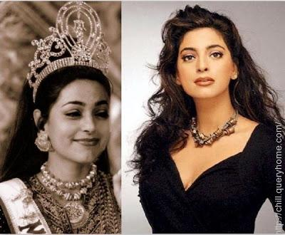 Juhi Chawla won her Miss India