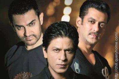 Salman and Shahrukh and Amir