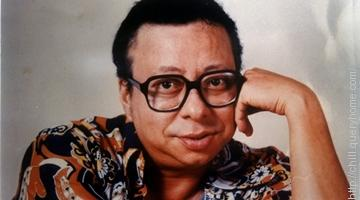 Rahul Dev Burman or R. D. Burman was famous for his unique, grunting bass singing style.