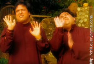 "Govinda makes a cameo appearance in the original music video of Adnan Sami's ""Lift Karade"" song."