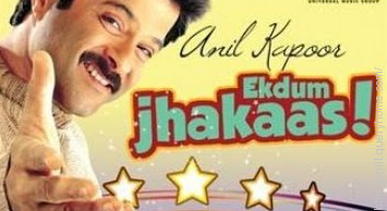 "In which movie did Anil kapoor says ""Jhakaas""?"
