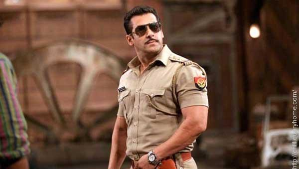 Salman Khan acted as a Police Inspector