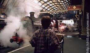 What is the number on the front of the Hogwarts Express of Harry Potter?