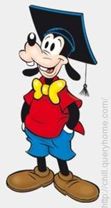 Gilbert was the name of Goofy's nephew in Disney cartoons.