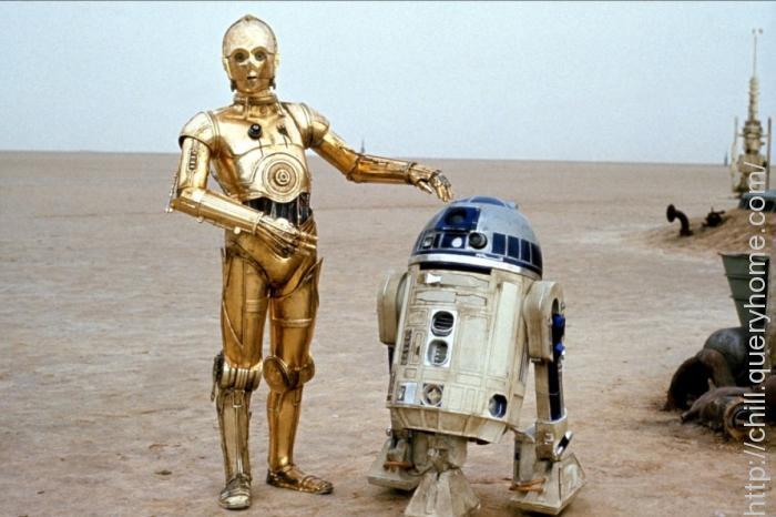 C3PO & R2D2