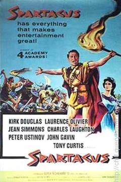 For movie Spartacus Peter Ustinov won an Oscar for Best Supporting Actor in 1960.