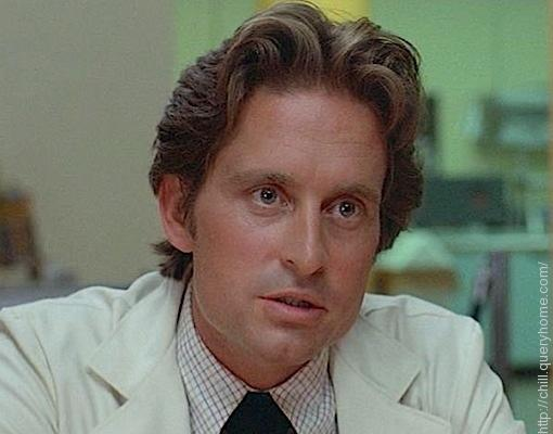 **Michael Douglas** played the male lead opposite Sharon Stone in the hugely successful movie 'The Basic Instinct'