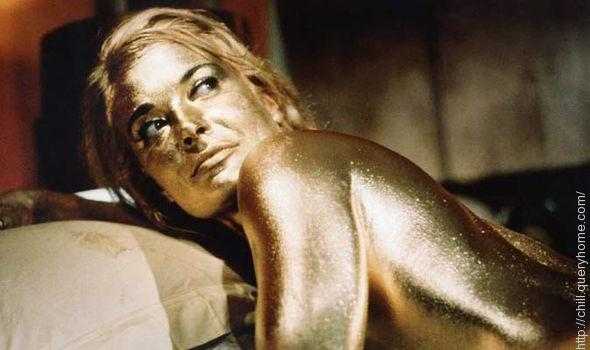 Shirley was painted Gold