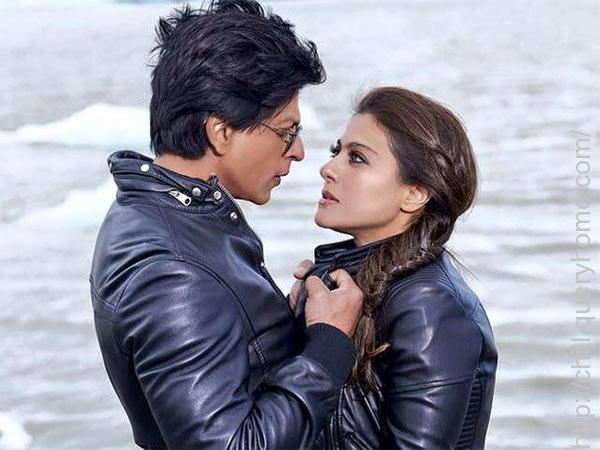Kajol was paired opposite SRK