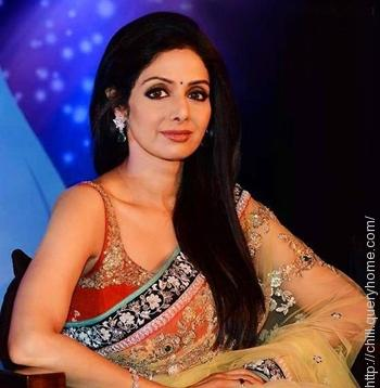 Which was the first Bollywood film of Sridevi?
