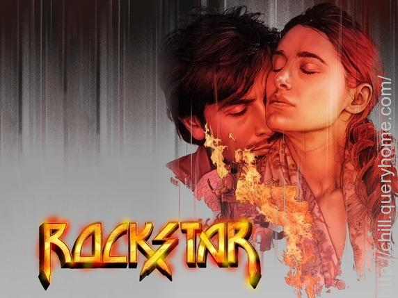 Why sequence of movie Rockstar was shot in reverse?