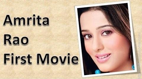 What was debut movie of Amrita Rao