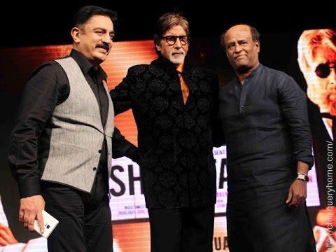 Amitabh Bachchan, Rajinikanth and Kamal Haasan