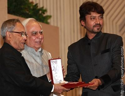Irrfan Khan won the 'best actor' award in National Film Award 2012 for his excellent performance in movie Paan Singh Tomar.