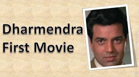 What is the Dharmendra's debut film