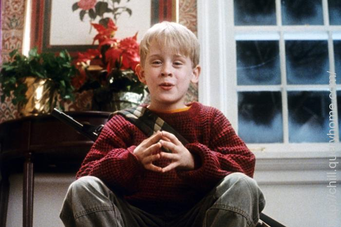 What was the name of the movie Kevin was watching in Home Alone?