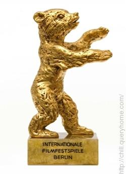 In the Berlin International Film Festival 'The Golden Bear' award is given.