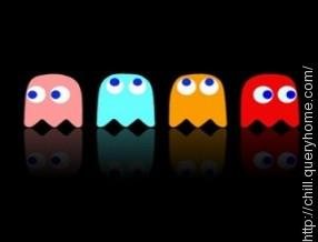 what are the ghost's name in pacman