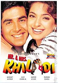 Juhi Chawla played the role as Mrs Khiladi in movie 'Mr And Mrs Khiladi'.
