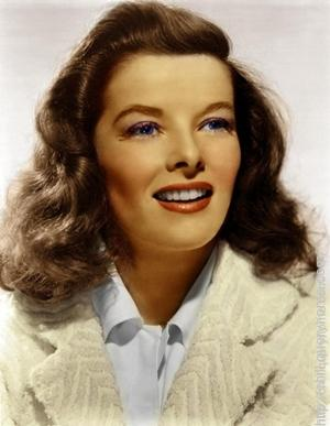 Katharine Hepburn played the lead female role in hollywood movie 'The African Queen'