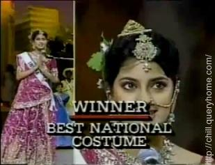 Best National Costume
