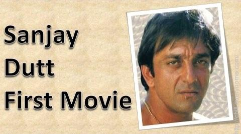 what is the first movie of sanjay dutt