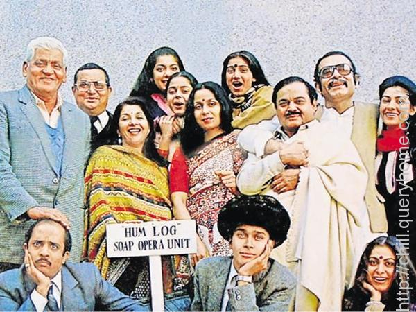 India's first television soap opera was Hum Log