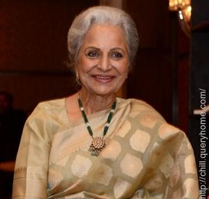Bollywood actress Waheeda Rehman won the first Filmfare Lifetime Achievement Award as actress.
