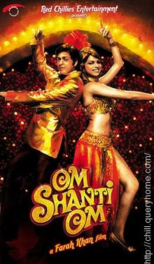 In bollywood film Om Shanti Om most number of bollywood stars appeared.