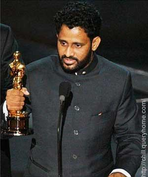 Rasool Pookutty won the Academy Award in 2009 for Best Sound Mixing for movie Slumdog Millionaire.
