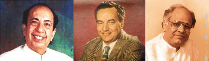 Mahendra Kapoor, Mukesh and Rajendra Mehta sang 'Mera rang de basanti chola' from the film 'Shaheed'.