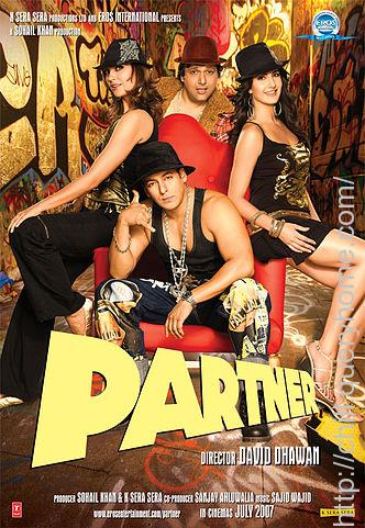 Who did the music for the bollywood Movie Partner?