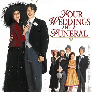 Who was the director of hollywood movie 'Four Weddings and a Funeral'?