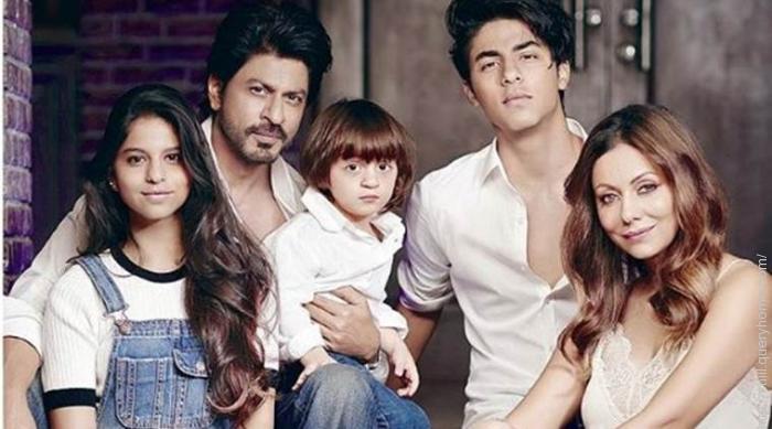 shahrukh khan and his family