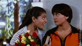 Kajol in movie Dushman