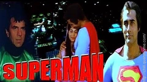 Puneet Issar as superman
