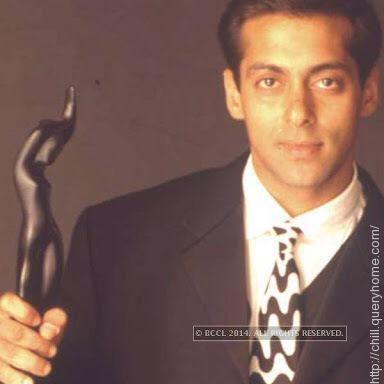 Salman receive his first nomination for Filmfare Award