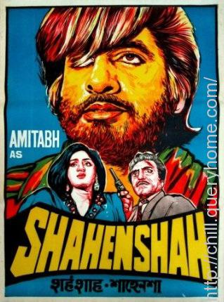 "Who wrote the original story of most iconic bollywood movie ""Shehenshah""?"