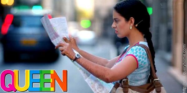 Kangana in the film Queen