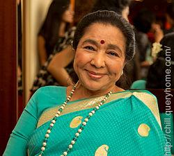 Asha Bhosle was the first Indian singer to be nominated for the Grammy Award