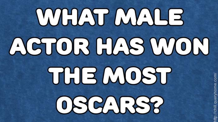 which actor has won the most oscars