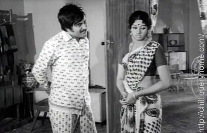 Who portrayed the role of superstar Rajnikanth's stepmom in Tamil movie Moondru Mudichu