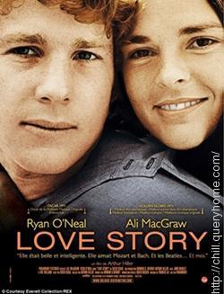 Love Story is the debut movie of Tommy Lee Jones.