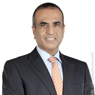 Sunil Bharti Mittal is the founder of Airtel telecom company.
