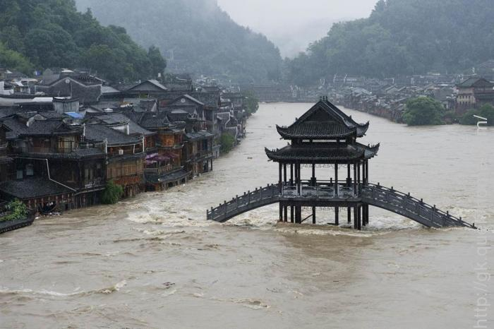 floods throughout China